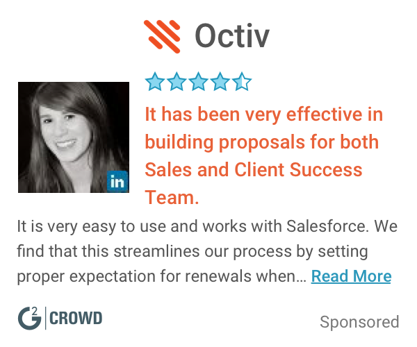 Octiv  sfdc appexchange tools   customer review  2x
