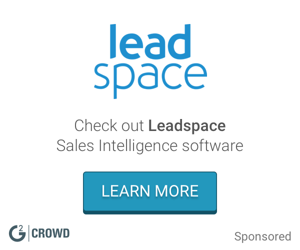 Leadspace  sales intelligence   2x
