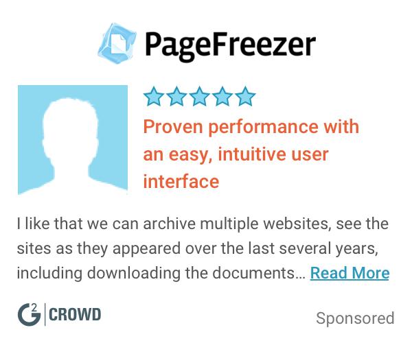 Pagefreezer  ediscovery  2x