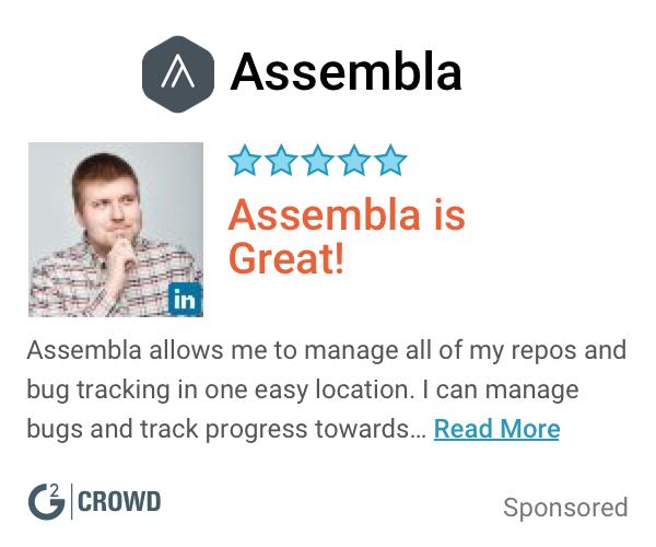 Assembla  review  2  3 categories  2x