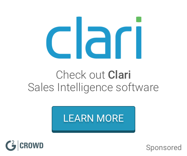 Clari  sales intelligence  2x