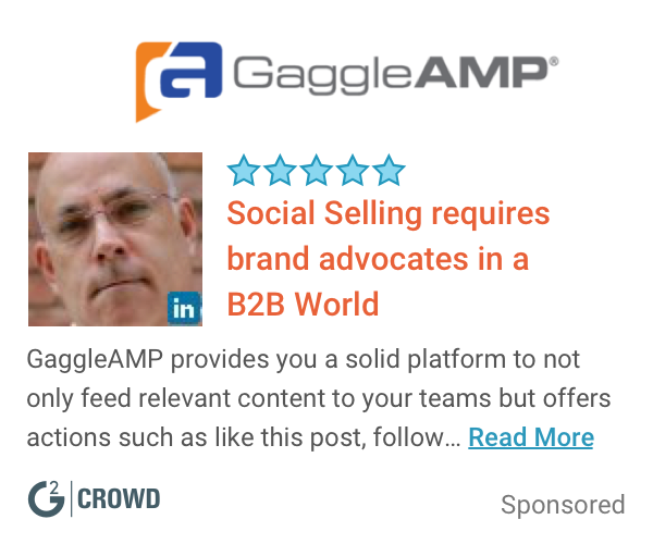 Gaggleamp brand advocacy  2x