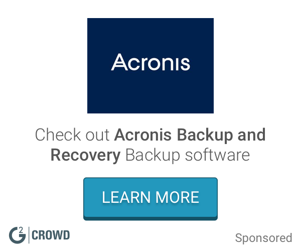 Acronis backup and recovery 2x
