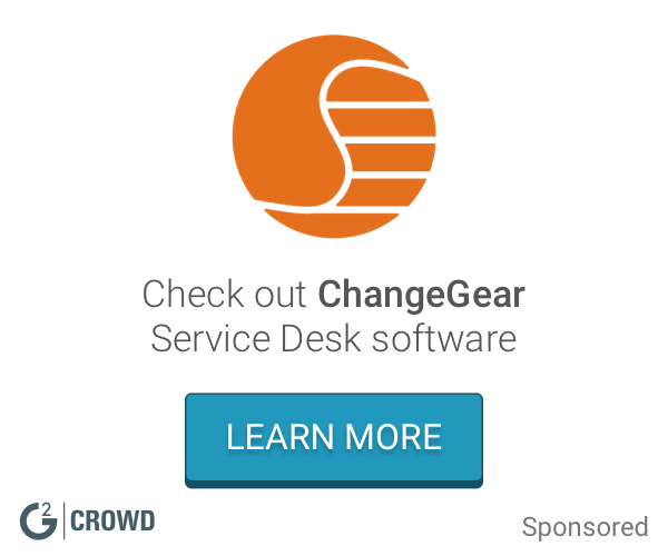 Changegear  service desk  2x