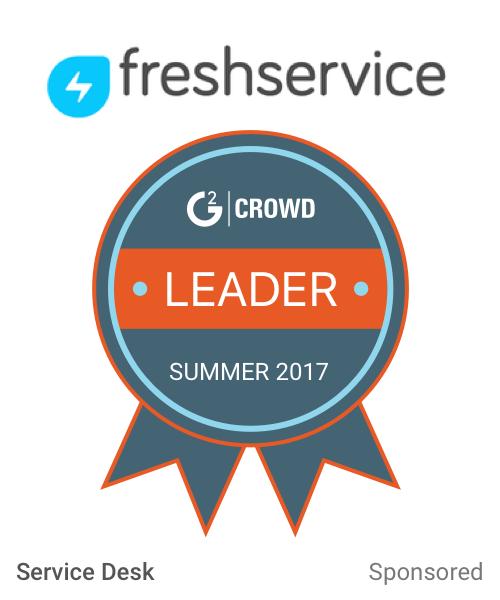 Freshservice service desk  leader  2x