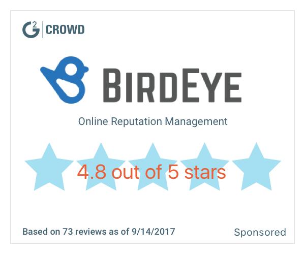 Birdeye star rating  2x