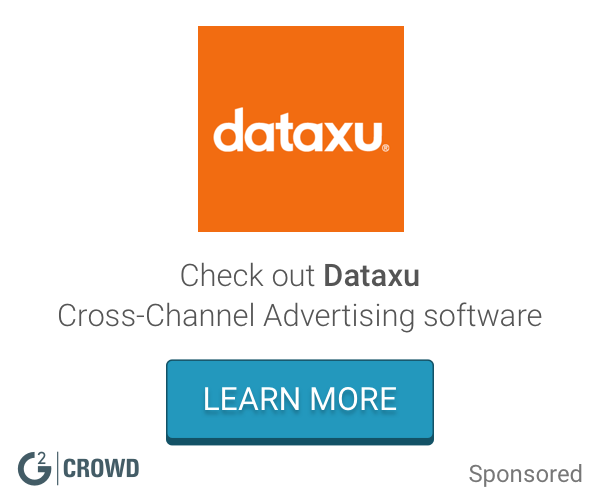 Dataxu cross channel  2x